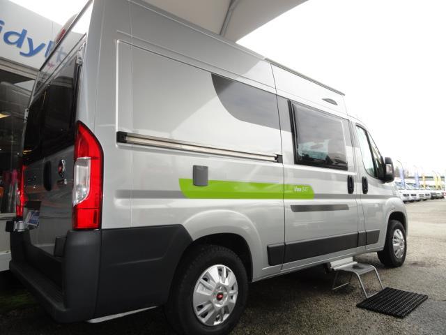elios van 54t camping car fourgon neuf caravaning du marais chamb ry en savoie. Black Bedroom Furniture Sets. Home Design Ideas